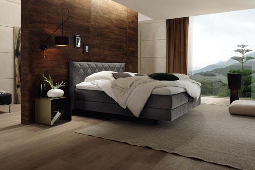 Кровати Boxspring от Hulsta, система кроватей с двумя матрасами, комфортные, удобные, эргономичные кровати в современном стиле, под заказ в Минске