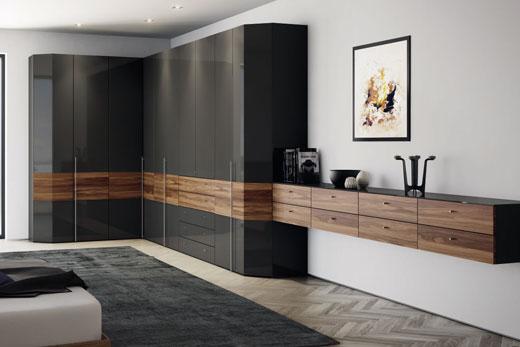 Планировка шкафа от немецкого производителя корпусной мебели Hulsta, шкафы в прихожей,  в спальне, в гостиной, угловой, встроенный и по своим размерам, как выбрать наилучшую планировку двустворчатого или двух дверного шкафа, обзор!