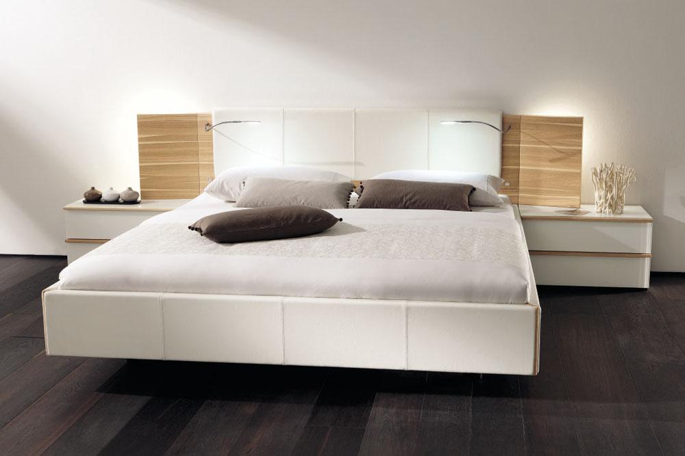 Спальня Cutaro от Hulsta, особенности конструкции и дизайна, спальные гарнитуры современного стиля, модульные системы мебели для спальни.