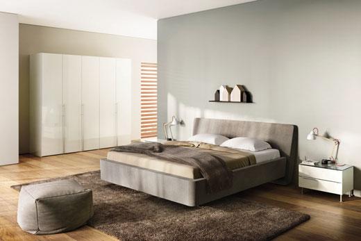 Кровать трансформер Sera, модульная корпусная мебель для спальной комнаты в современном стиле, в шпоне или лаке, под заказ в Минске