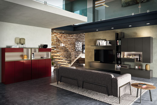 Модульная, корпусная, мебель трансформер, для гостиной комнаты, в современном стиле, лаке, глянце, шпоне, под заказ, в Минске!