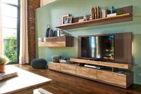 Модульная мебель для гостиной в современном стиле из массива и глянца, распродажа образцов в Минске.