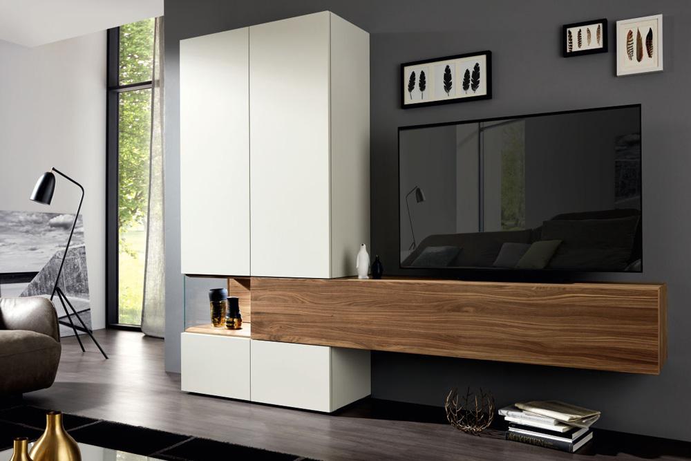 мебель для гостиной немецкая в современном стиле модульная