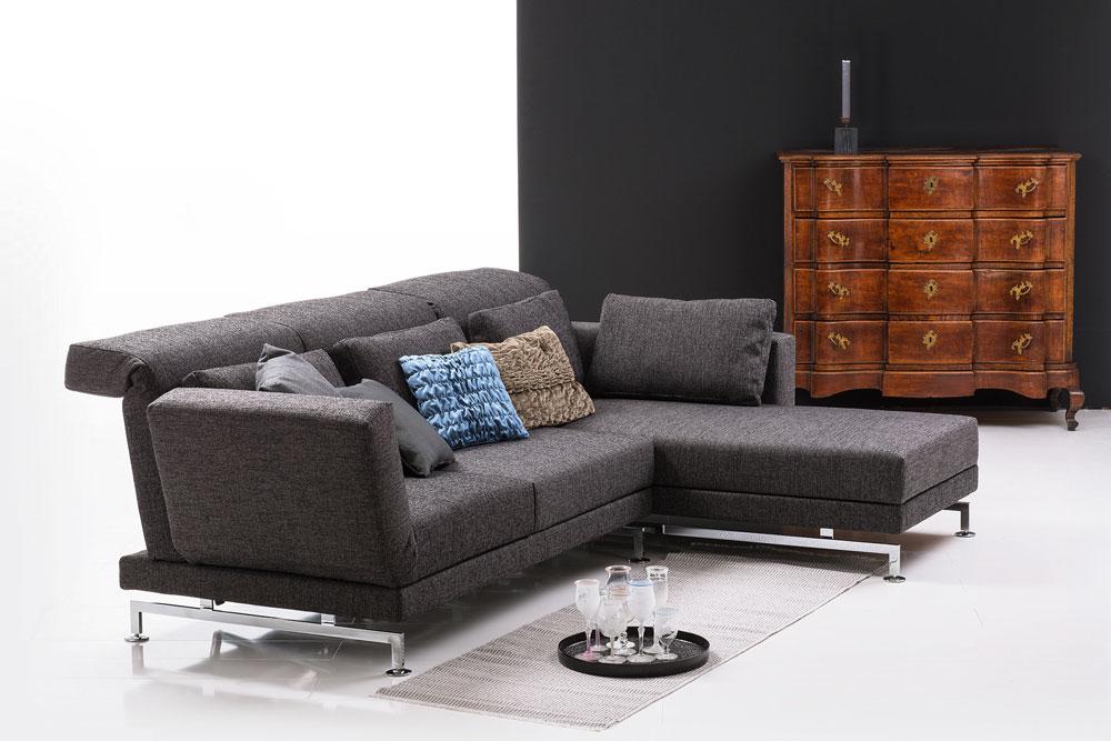 Мягкая модульная мебель со спальным местом от Bruehl Interoline
