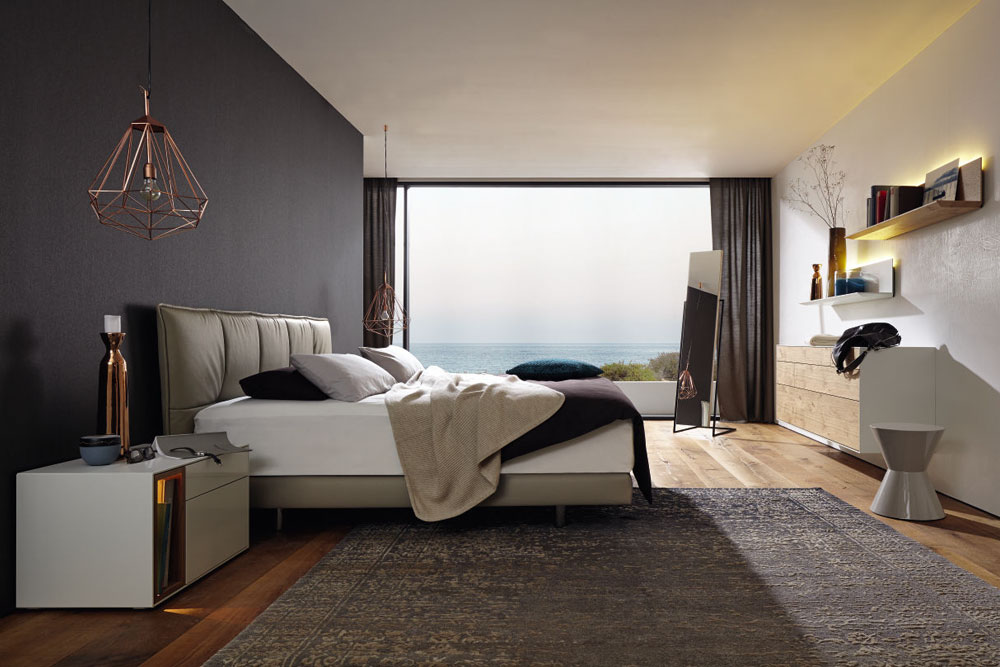купить кровати Hulsta модульную и современную мебель для спальни в